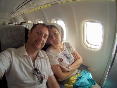 Vol jusqu'à Bagan