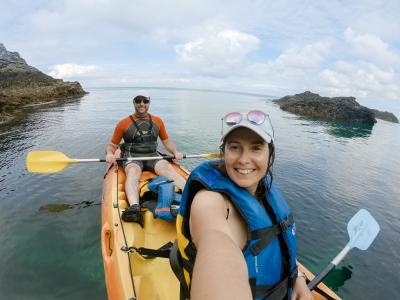 Kayak de mer depuis Port-Puce (Belle-Ile-en-Mer)
