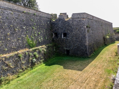 La Citadelle surplombant le port (Belle-Ile-en-Mer)