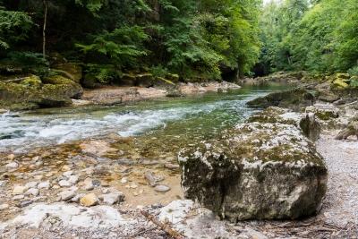 Sentier des pertes de la Valserine