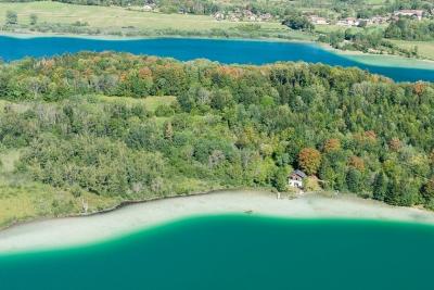 Vue depuis le belvédère des trois lacs