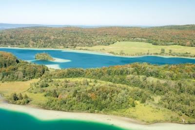 Vue depuis le belvédère des quatre lacs