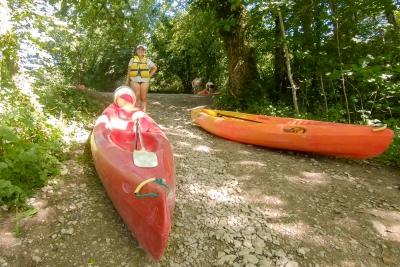Kayak sur l'Ain