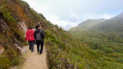 Descente volcan Sibayak