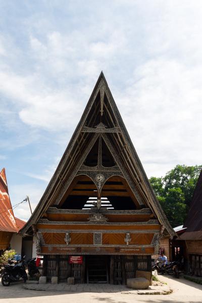 Maison traditionnelle (à Ambarita)