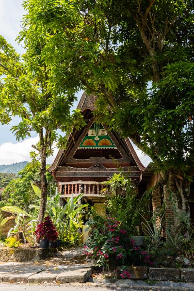 Maison traditionnelle Batak