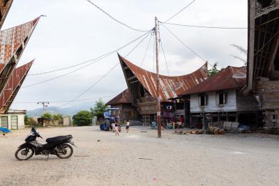 Village traditionnel Batak